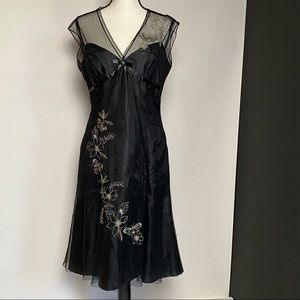 London Times black dress size 8